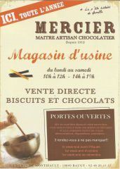 Chocolaterie Mercier